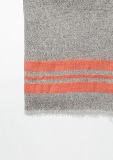 LOFT Sorbet Stripe Blanket Scarf