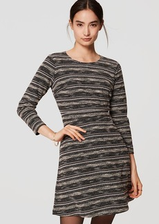 Spacedye Stripe Flare Dress