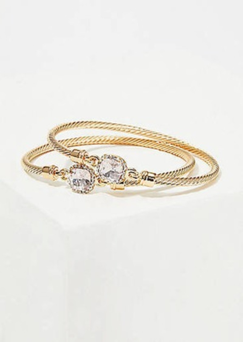 LOFT Sparkle Bracelet Set