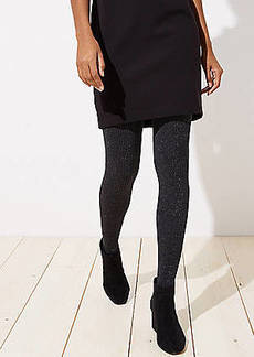 LOFT Sparkle Ribbed Tights
