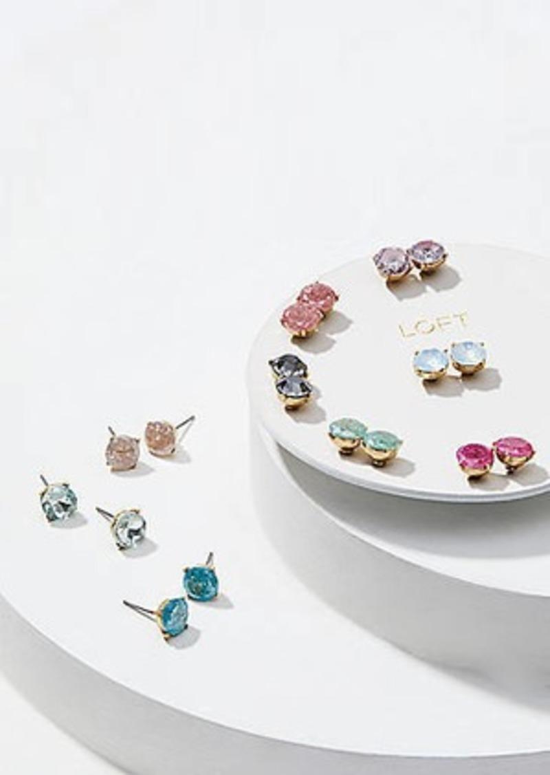 LOFT Sparkle Stud Earring Set