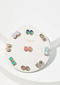 LOFT Spring Sparkle Stud Earring Set