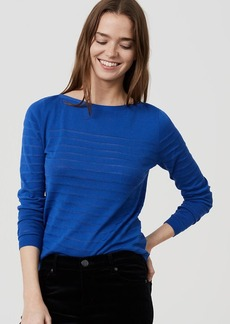 LOFT Springstripe Sweater