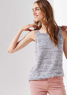 LOFT Square Neck Sweater Tank