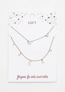 LOFT Star Necklace Set