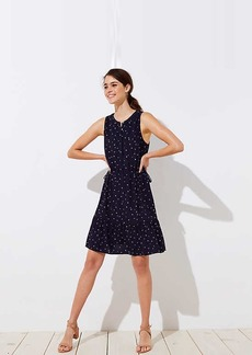 LOFT Star Drawstring Dress