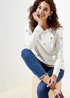 LOFT Star Sweatshirt