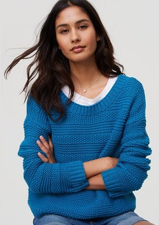 LOFT Stitch Stripe Sweater