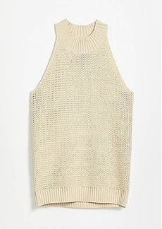 LOFT Stitchy Halter Sweater