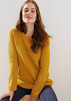 LOFT Stitchy Sweater