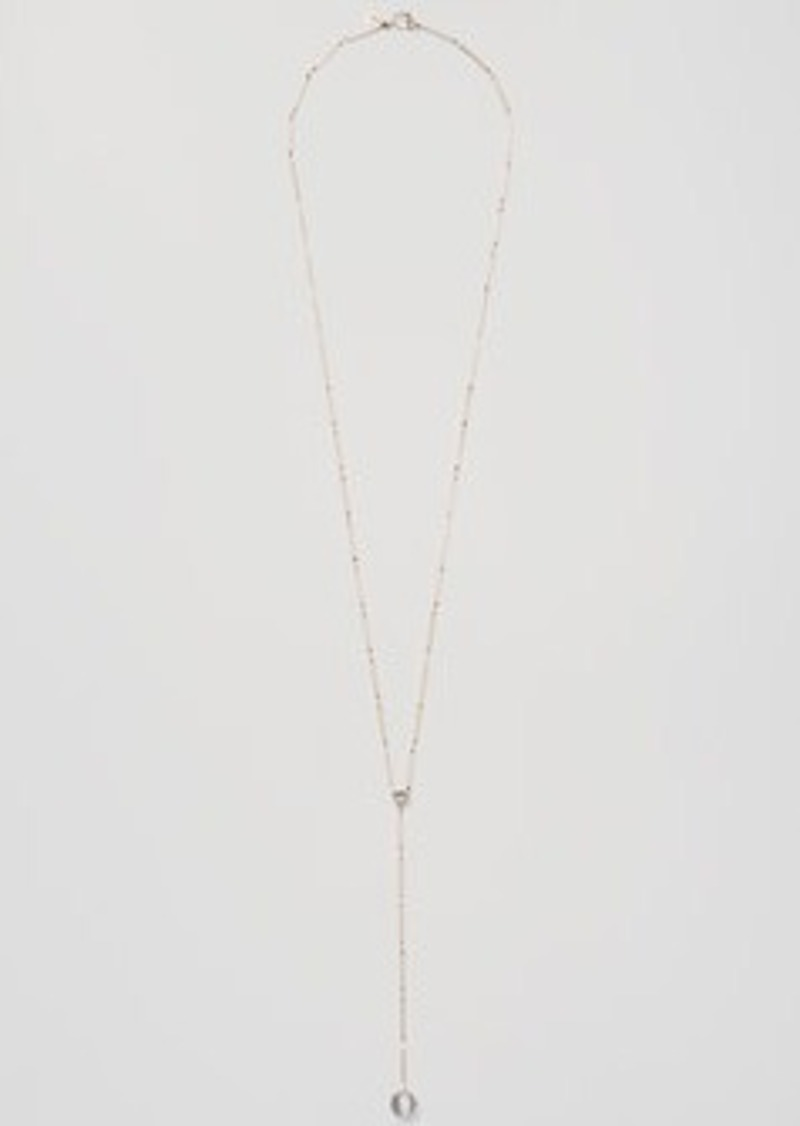 LOFT Stone Bar Y Necklace
