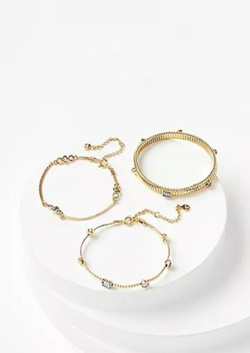 LOFT Stone Bracelet Set