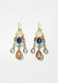 LOFT Stone Chandelier Earrings