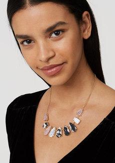 LOFT Stone Drop Necklace