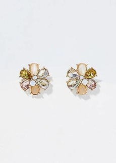 LOFT Stone Flower Stud Earrings