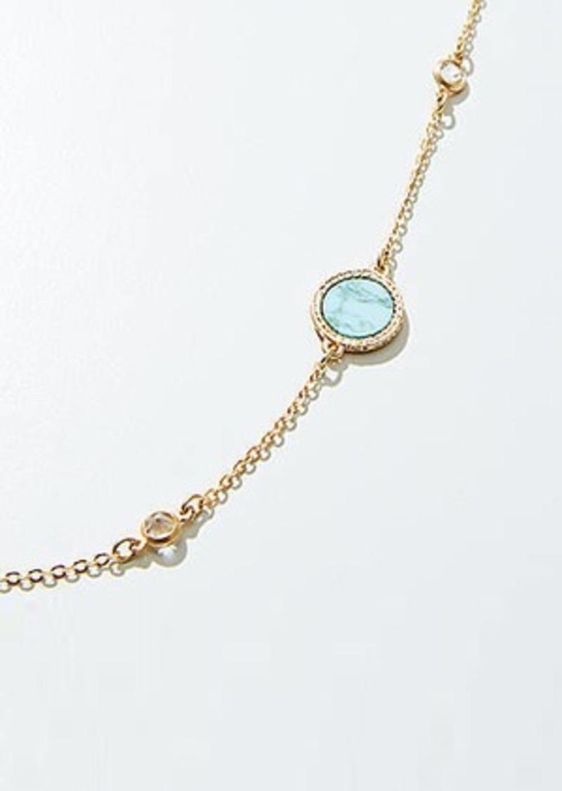 LOFT Stone Illusion Necklace
