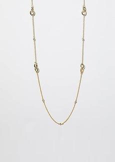 LOFT Stone Link Station Necklace