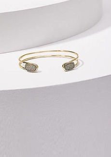 LOFT Stone Open Cuff Bracelet