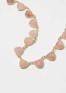 LOFT Stone Statement Necklace