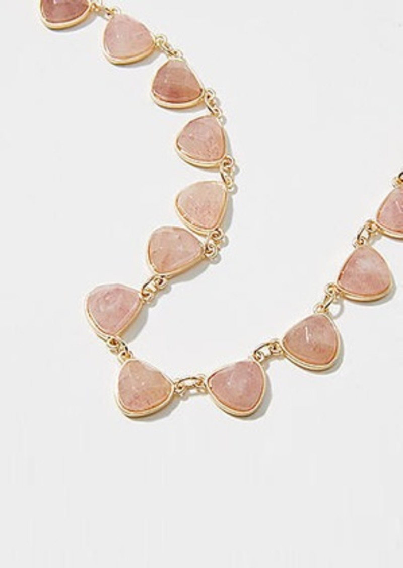 LOFT Stone Statement Necklace