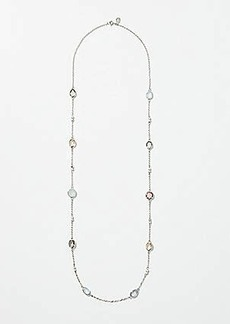 LOFT Stone Station Necklace