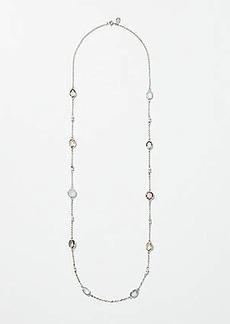 LOFT Stone Station Necklace