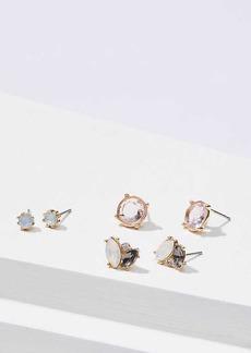 LOFT Stone Stud Earring Set
