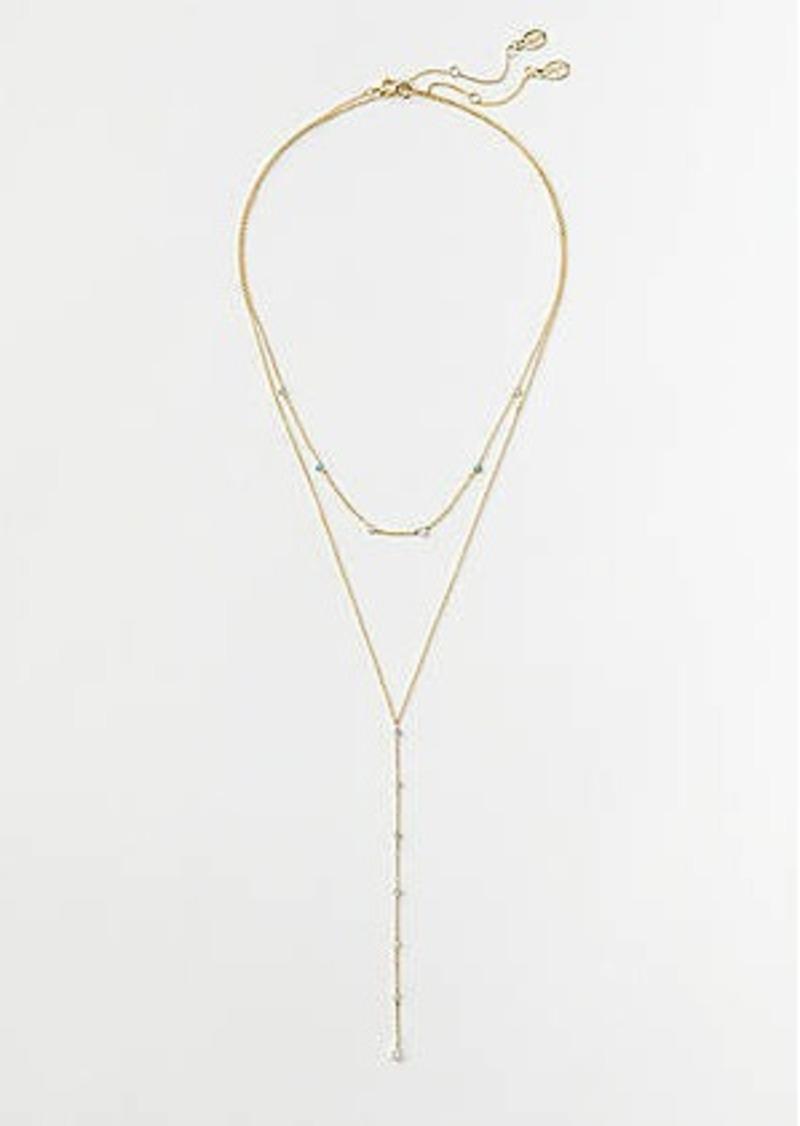 LOFT Stone Y Necklace