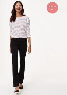 LOFT Straight Leg Corduroy Pants in Modern