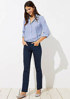 LOFT Straight Leg Pants in Marisa Fit