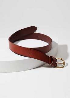 LOFT Strappy Buckle Leather Belt