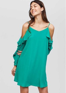 Strappy Cascade Swing Dress