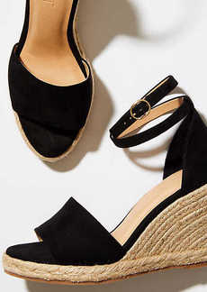 Strappy Espadrille Wedge Sandals