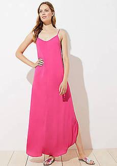 LOFT Strappy Maxi Dress