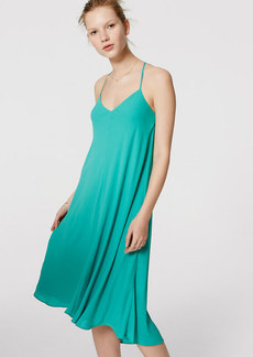 LOFT Strappy Racerback Dress