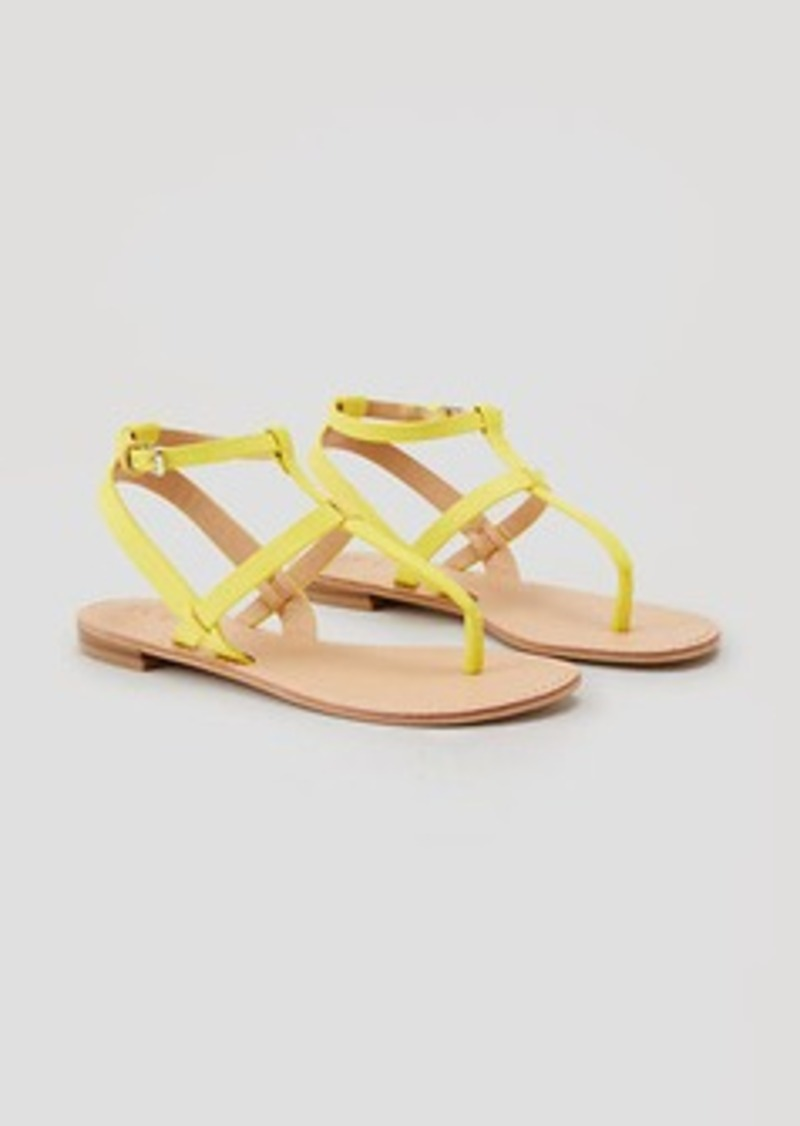 LOFT Strappy Thong Sandals