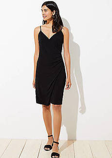 LOFT Strappy Wrap Dress