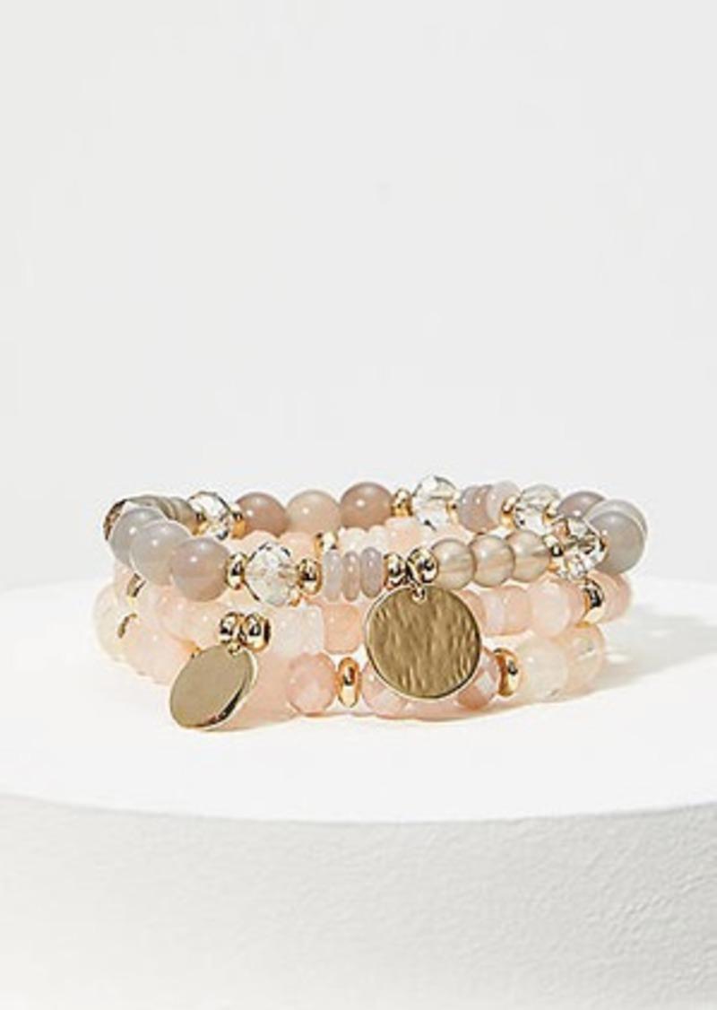 LOFT Stretch Beaded Bracelet Set