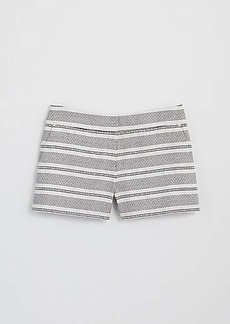 LOFT Stripe Textured Riviera Shorts