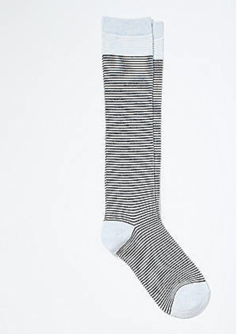 LOFT Striped Boot Socks