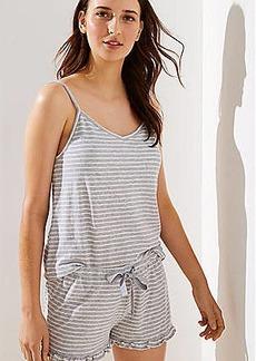 LOFT Striped Cami Pajama Set