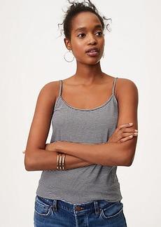 Striped Clean Cami