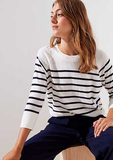 LOFT Striped Dolman Sweater