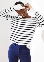 LOFT Striped Everyday Sweater