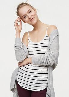 Striped Lace Clean Cami