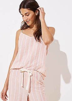 LOFT Striped Pajama Cami