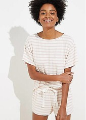 LOFT Striped Pajama Set