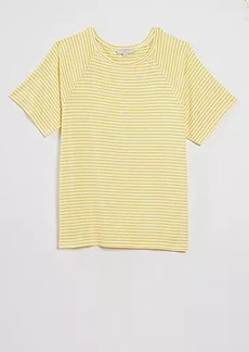 LOFT Striped Pajama Shirt