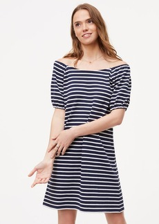Striped Puff Sleeve Dress