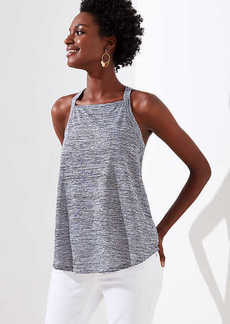 LOFT Striped Racerback Tank